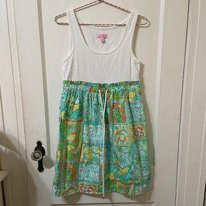 Lilly Pulitzer LP Just Add Lemons Sleeveless Dress